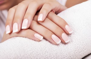 French Manicure for Wedding