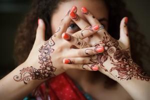Indian Bridal Nail Art